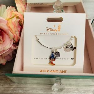Disney Alex and Ani Sorcerer Mickey -Ink and Paint